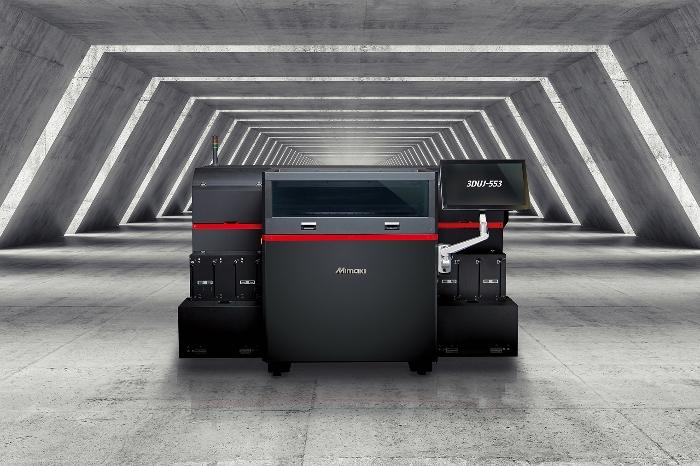L'imprimante 3D couleur Mimaki 3DUJ-553
