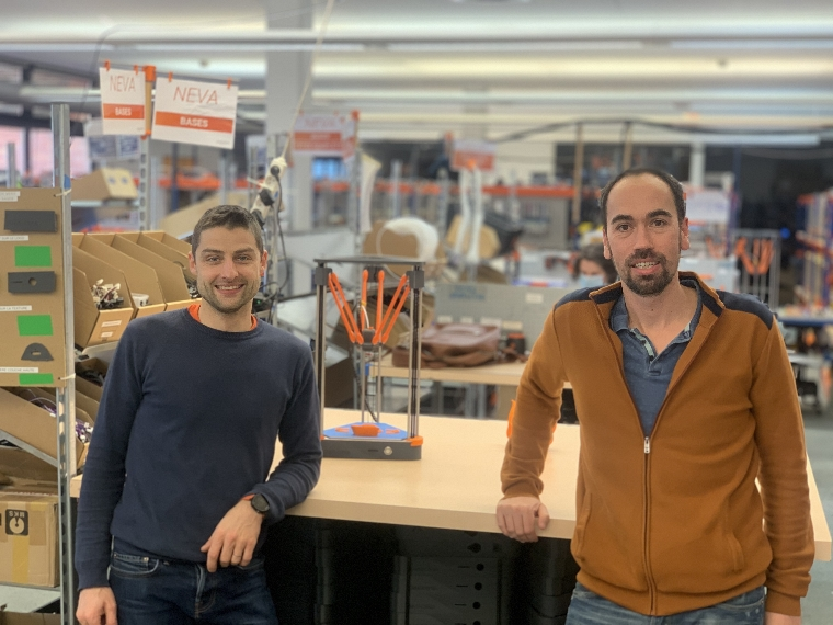Matthieu Regnier et Mathieu Beseme