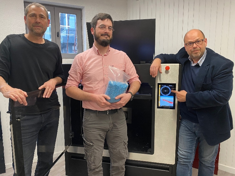 Rencontre avec le français EPEIRE 3D et ses imprimantes 3D industrielles à granulés