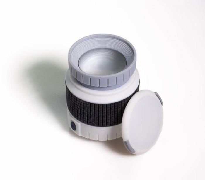 Exemple de prototype réalisé avec l'imprimante 3D de bureau multi-couleurs J35 Pro