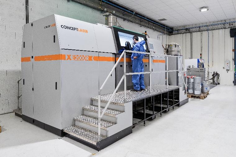 Au cœur de la fabrication additive métallique grand format avec LISI AEROSPACE Additive Manufacturing