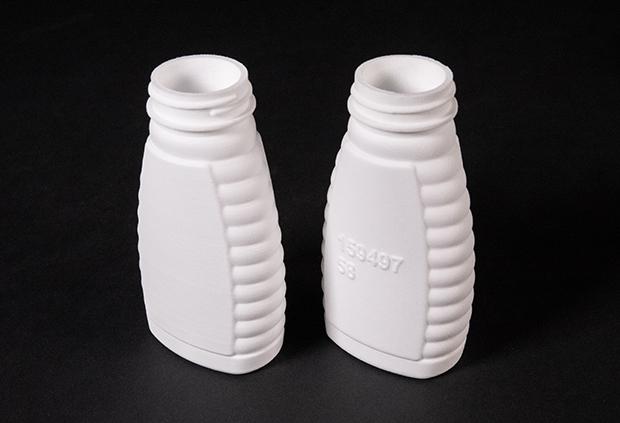 Prototypes imprimés à partir de poudre 100 % réutilisée