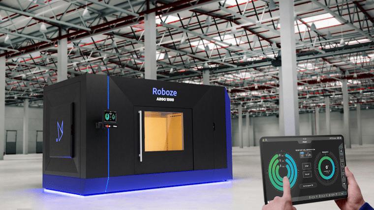 Roboze dévoile une imprimante 3D haute température pour des pièces d'1 mètre