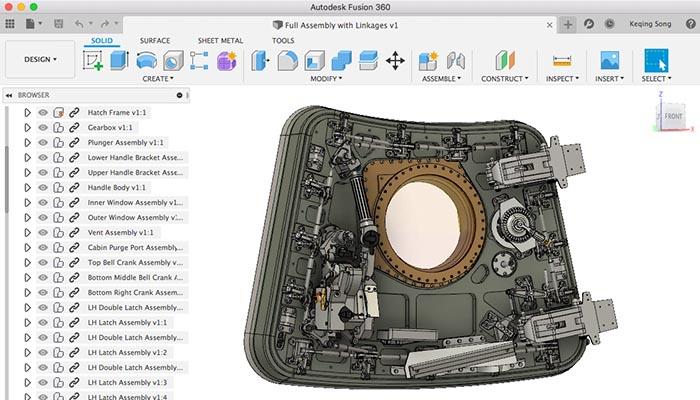 logiciel gratuit Fusion 360