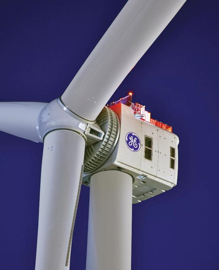 GE conçoit la plus grande imprimante 3D au monde pour son éolienne offshore