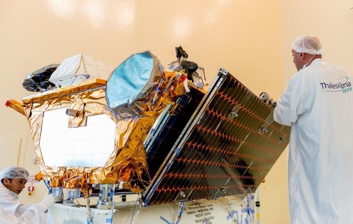 Satellite Iridium Next (crédits photo : Thales Alenia Space)