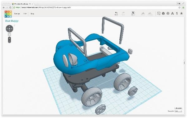 Thinkercad, le logiciel gratuit d'Autodesk