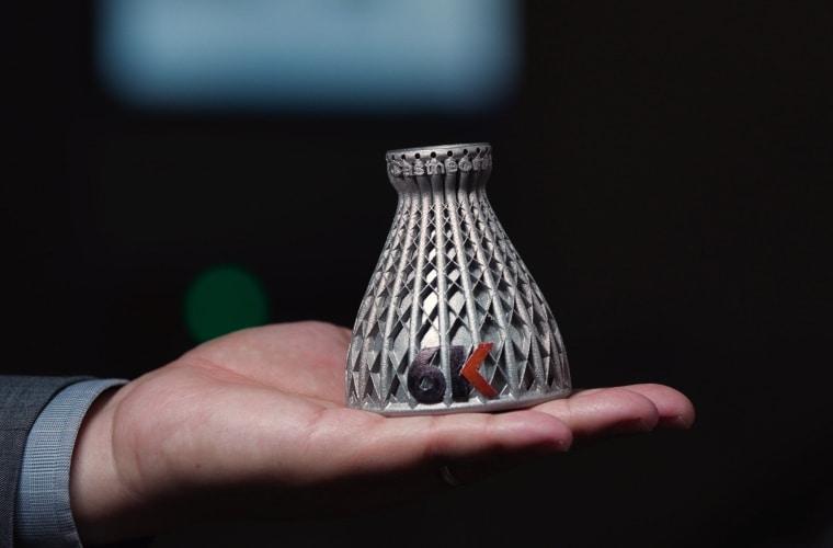 6K Additive fait parler sa technologie avec de nouveaux superalliages pour la fabrication additive métallique