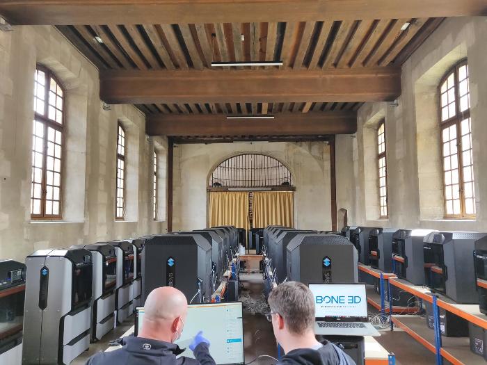BONE 3D lance un nouveau service pour faire entrer l'impression 3D dans les hôpitaux français