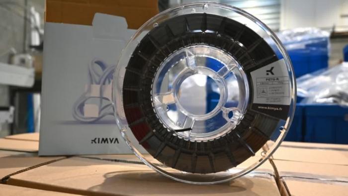 Kimya : un nouveau filament PETG issu de déchets des secteurs du luxe et du médical