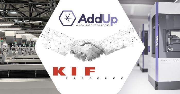 Fabrication additive métallique : AddUp met sa technologie à l'heure suisse