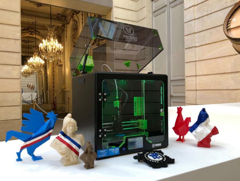 Pour la 2ème année consécutive, Volumic exposait en juillet dernier au Palais de l'Élysée pour la Grande Exposition de Fabriqué en France