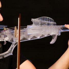 3Dvarius : le premier violon électrique imprimé en 3D disponible sur Kickstarter