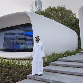 Dubaï dévoile les premiers bureaux imprimés en 3D !