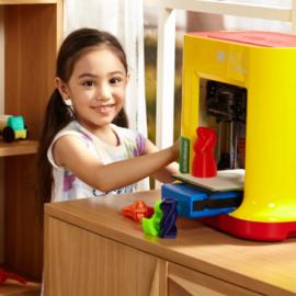 Prodesk3d l 39 imprimante 3d multicolor de botobjects - Imprimante 3d enfant ...