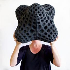Un matériau d'impression 3D fabriqué à partir de pneus usagés