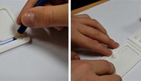 Des guides alphabétiques imprimés en 3D pour aider les enfants malvoyants