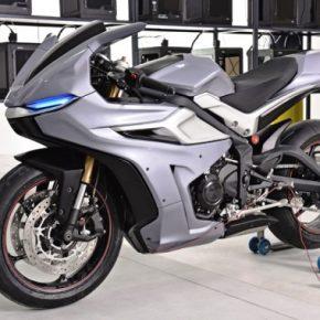 3D RIDER : Zortrax dévoile une moto imprimée en 3D