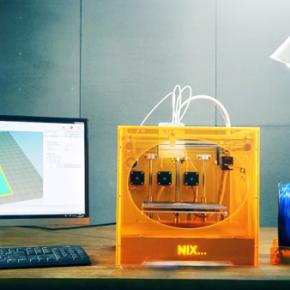 Nix : une imprimante 3D couleur à seulement 865 €