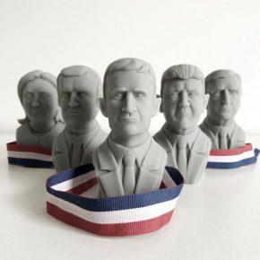 Quand l'impression 3D s'invite dans l'élection présidentielle !