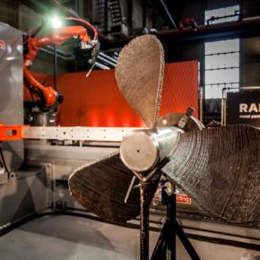 RAMLAB et Autodesk dévoilent une hélice de navire imprimée en 3D