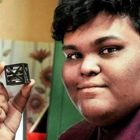 Grâce à l'impression 3D un indien de 18 ans fabrique le satellite le plus léger au monde